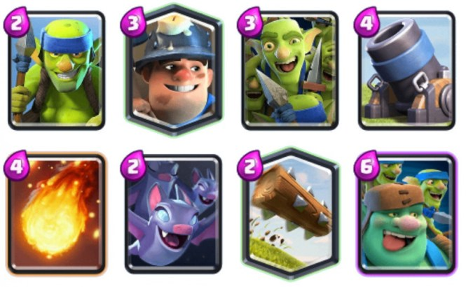 VULKan Mortar Miner Clash Royale deck