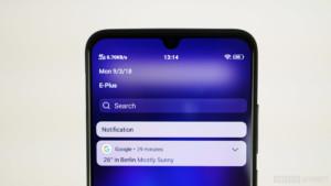 Vivo V11 review - notifications