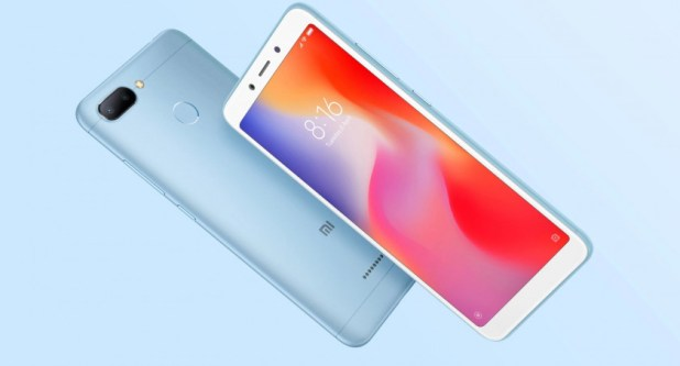 The Xiaomi Redmi 6.