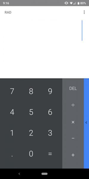 Google Calculator Old 1