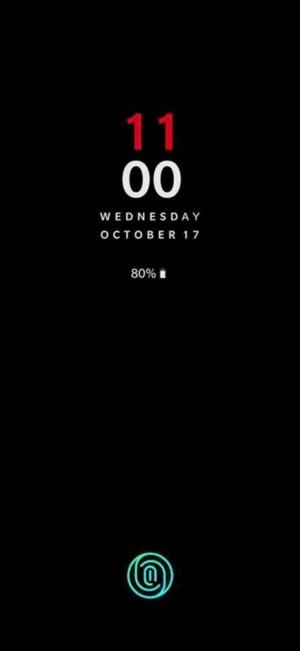 OnePlus 6T homescreen launch date fingerprint sensor