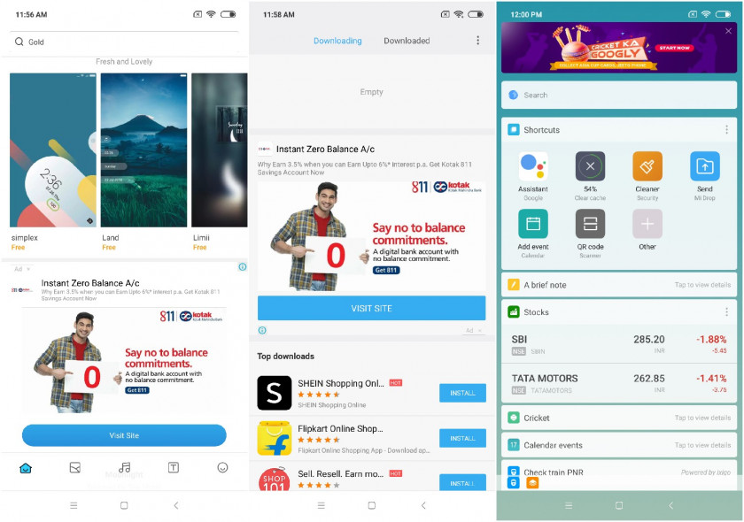 Image result for MIUI ads