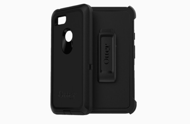 A promotional image of the Google Pixel 3 OtterBox.