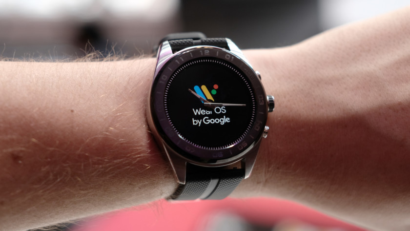LG Watch W7 Wear OS logo 1