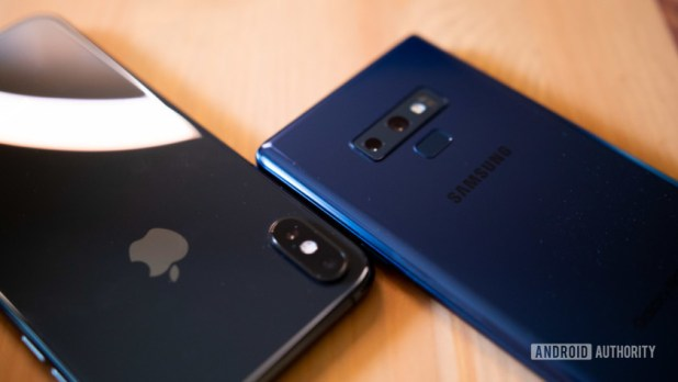 Samsung Galaxy Note 9 vs Apple iPhone XS Max-3