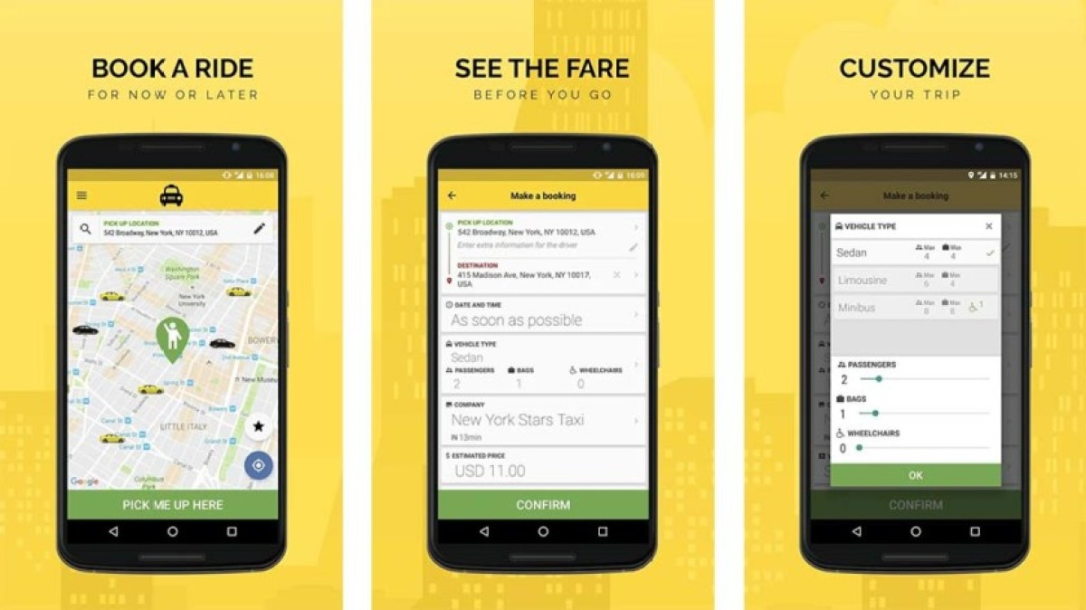 TaxiCaller - best taxi apps for android
