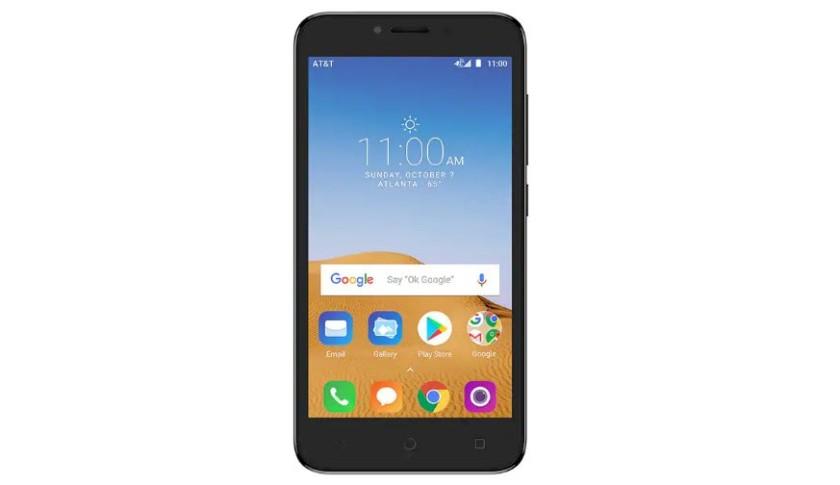Alcatel Tetra - at&t prepaid phone