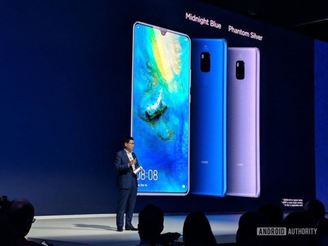 Mate 20 X image from the Huawei presentation