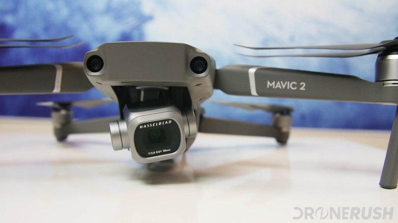 DJI Mavic 2 Pro front close up on Hasselblad camera