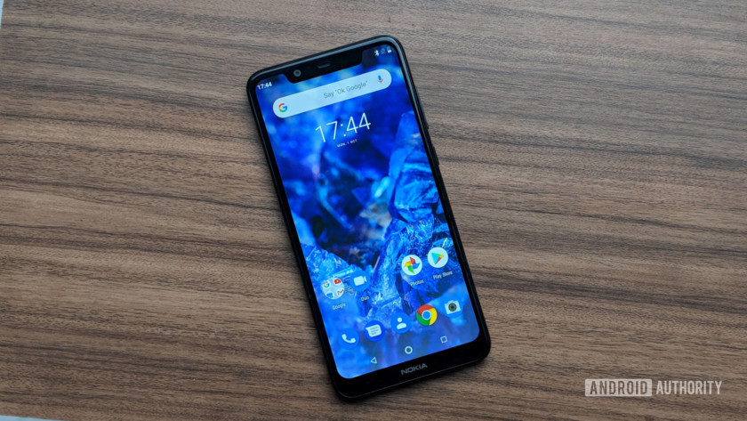 Nokia 5.1 Plus display
