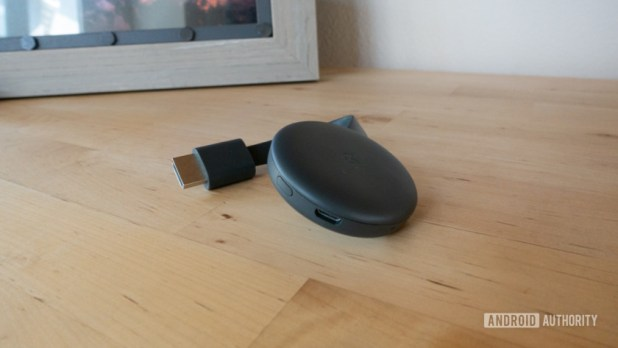 Third-gen Chromecast apps