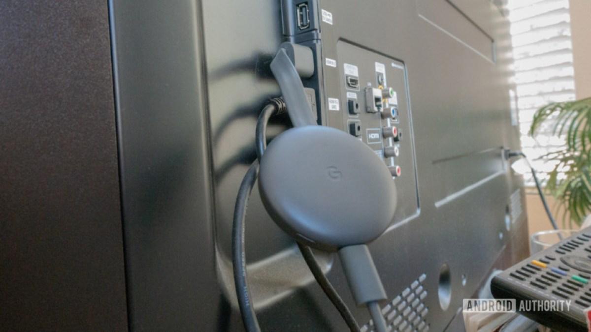 Chromecast третьего поколения