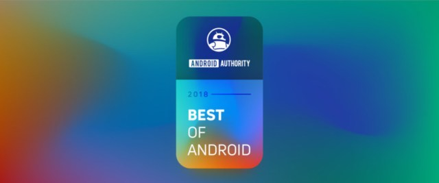 Best of Android 2018 banner.