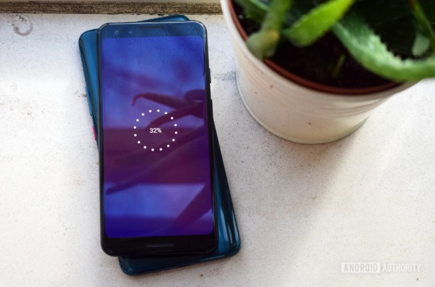 Huawei Mate 20 Pro wirelessly charging up the Google Pixel 3 - Best phones with wireless charging