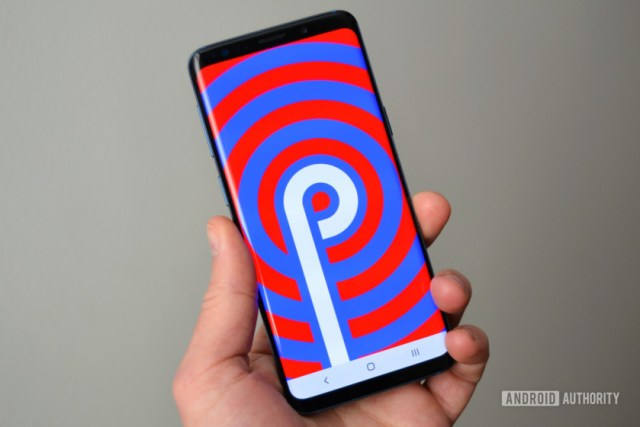 samsung galaxy s9 one ui review android pie logo easter egg