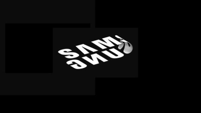 Samsung Mobile folding phone logo