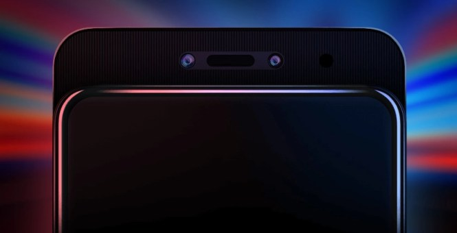 The Lenovo Z5 Pro slider.