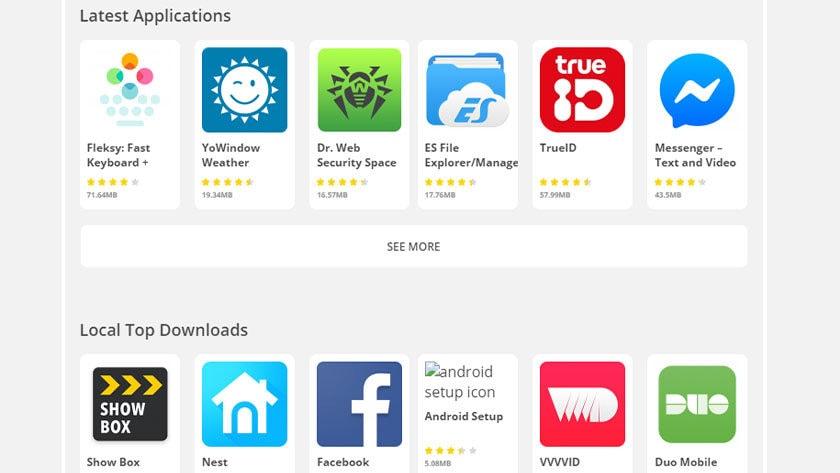 Aptoide - las mejores tiendas de aplicaciones de terceros