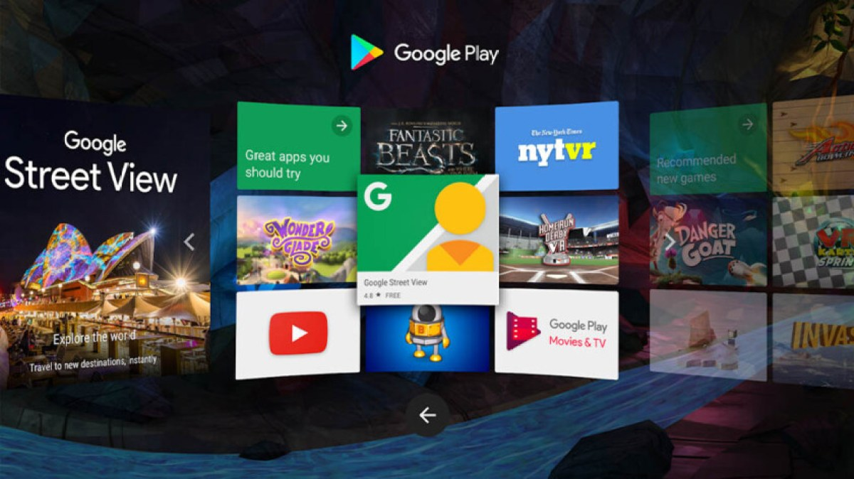 This is the featured image for the best VR apps for android