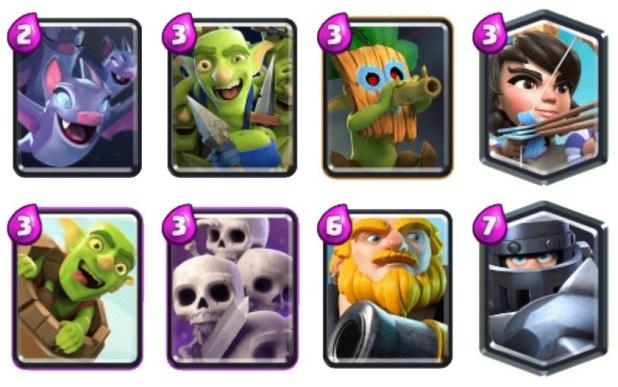 Little Shen targeted bait good Clash Royale decks