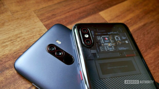 Xiaomi Mi 8 Pro vs Pocophone F1 camera