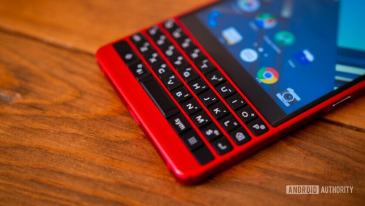 Blackberry KEY2 Red Edition keyboard