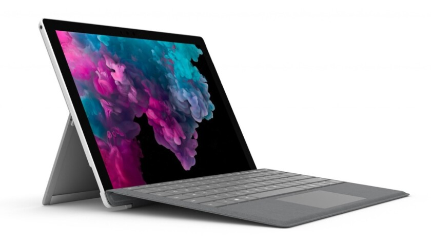Best tablets for business -- Microsoft Surface Pro 6