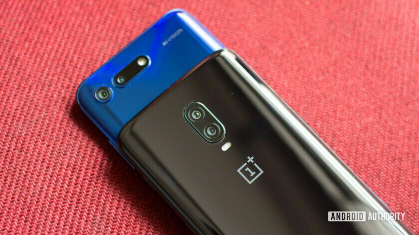 OnePlus 6T vs Honor View 20 camera