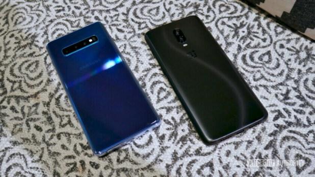 Samsung Galaxy S10 vs OnePlus 6T