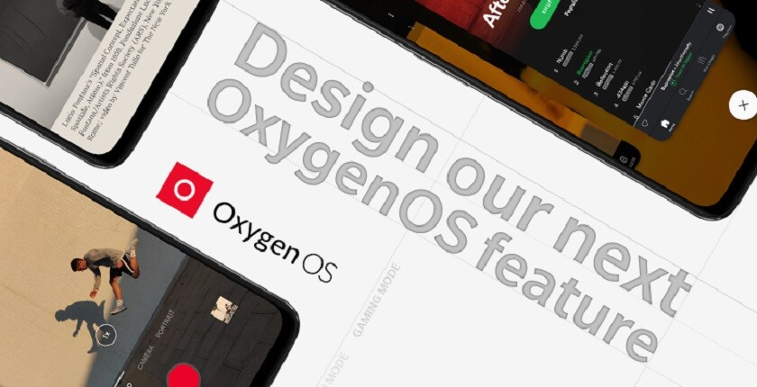 OnePlus design an Oxygen OS feature logo.