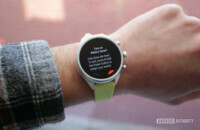 fossil sport smartwatch battery saver mode prompt