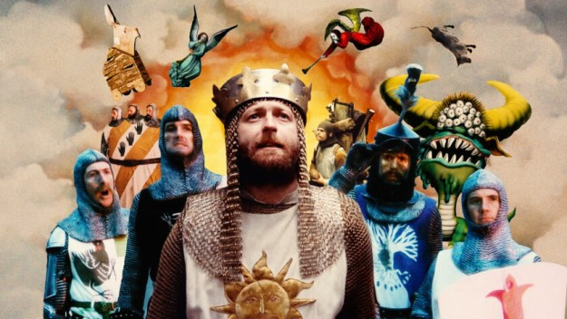 Cast of the Monty pyton and the holy Grail