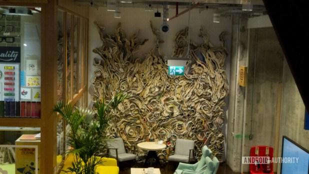 Facebook Offices London Wall Artwork