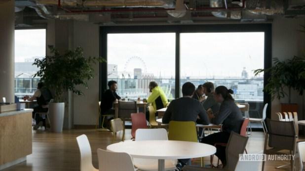 Facebook Office London Cafe