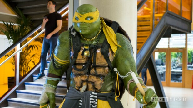Facebook Office London Ninja Turtle