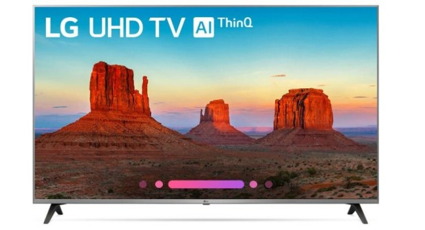 LG 65-inch 4K UltraHD Smart TV