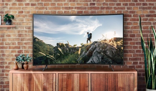 Samsung 55 UHD 4K Curved Smart TV NU7300