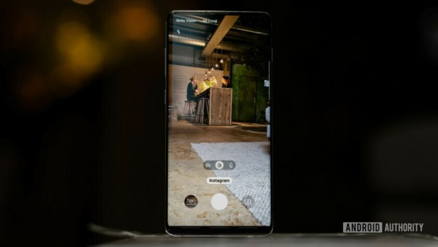 Samsung Galaxy S10 Plus Instagram mode