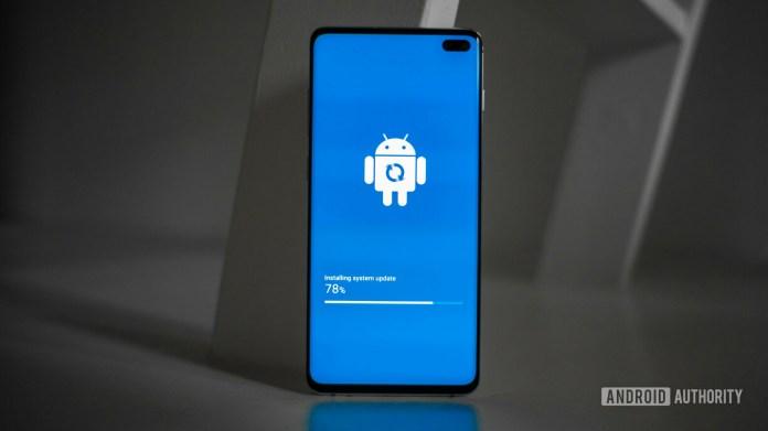 Samsung Galaxy S10 Plus Update