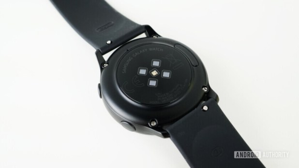 Samsung Galaxy Watch Active sensors