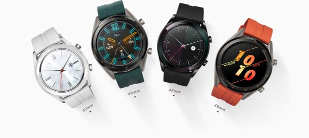 huawei watch gt different sizes 46mm and 42mm