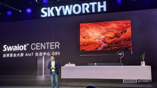 Skyworth Q80 TV launch.