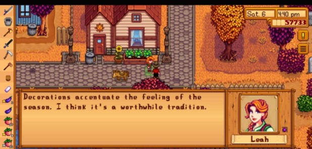 Stardew Valley Leah friendship guide