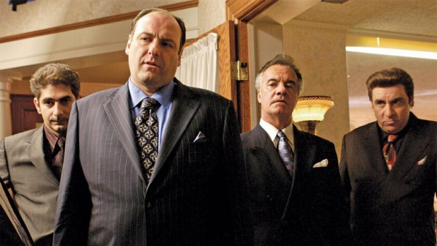 Part of the cast of The Sopranos - Best Amazon prime shows