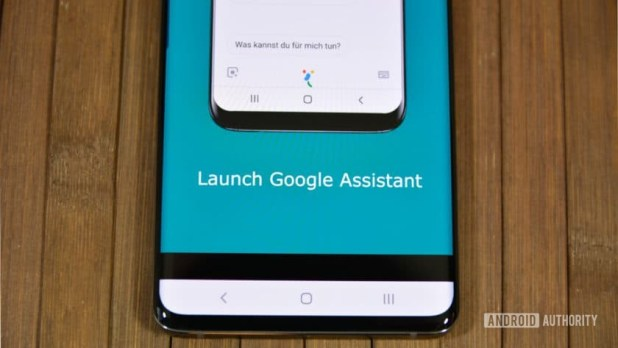 A photo of a Bixby remapper app from the Google Play Store