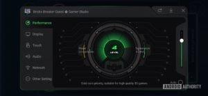 Black Shark 2 Review Shark Space performance monitor