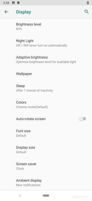 Black Shark 2 Review display controls UI