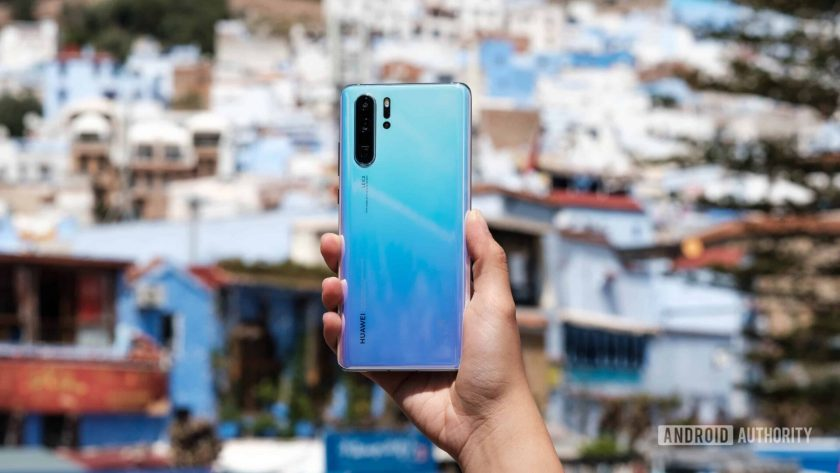 Huawei P30 Pro held in hand