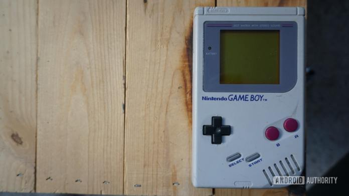 Picture of a Nintendo Game Boy