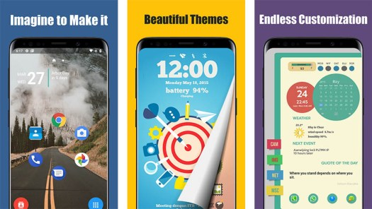 Total Launcher is one of the best android launcher apps